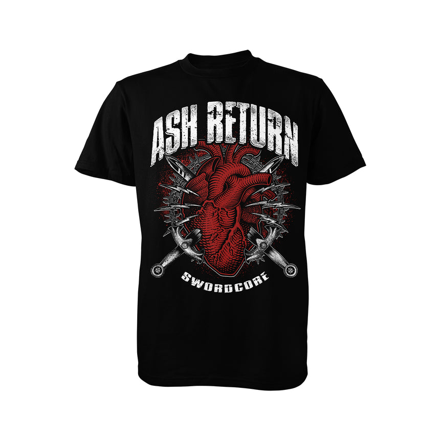 Ash Return - Sharp Blade of Integrity RECORD + 126 Collaboration Shirt Bundle