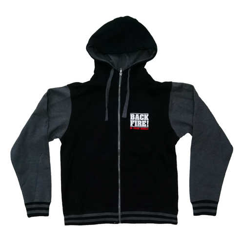 Backfire M-Town Rebels Varsity Zipped Jacket