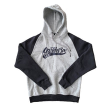 Load image into Gallery viewer, Embroidered Raglan Heavy Hoodie (Charcoal / Sport Grey)