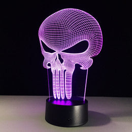 Halloween 3D Illusion Lamp