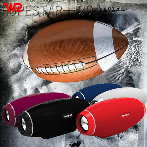 WPAIER H20 Rugby Wireless Bluetooth speaker Outdoor portable waterproof sound box