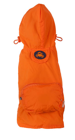 Orange Crab Raincoat
