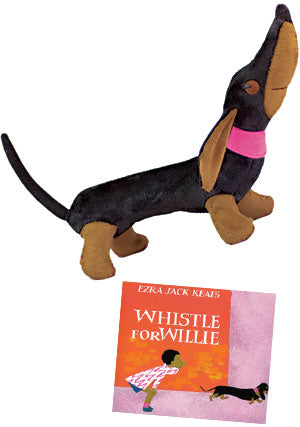 Whistle for Willie Doll and Book Set