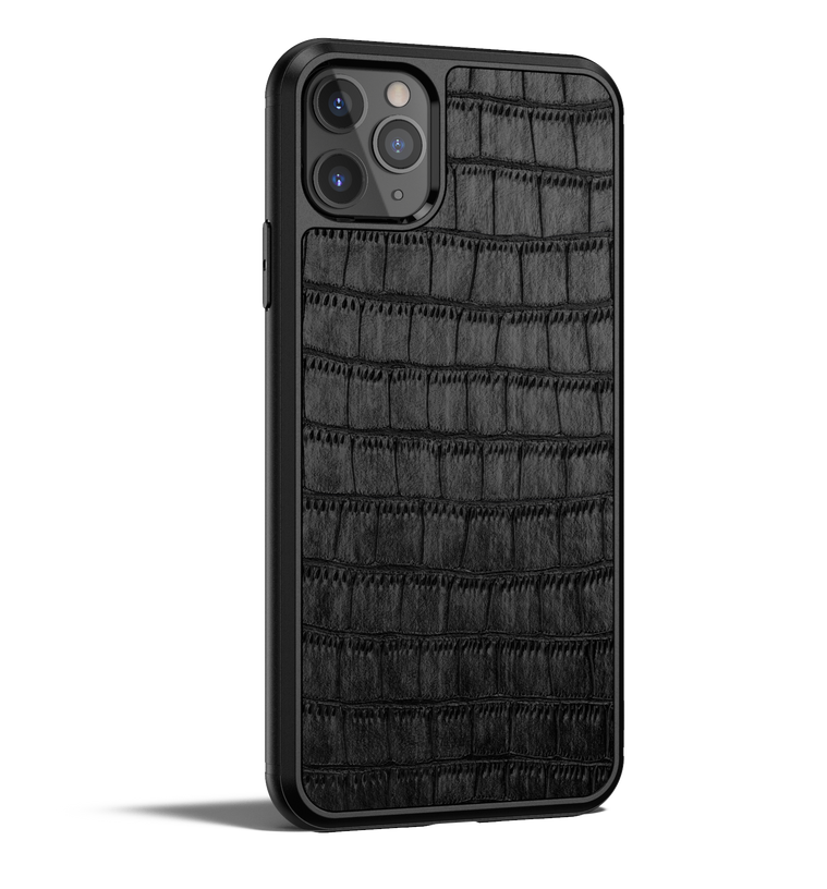 Crocodile Leather iPhone 11 Pro Max Case