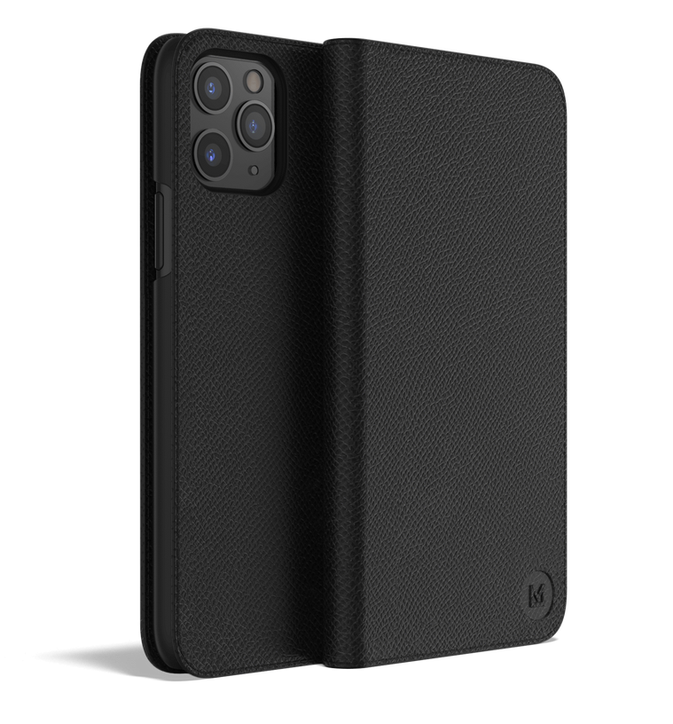 Leather iPhone 11 Pro Case - Folio Wallet