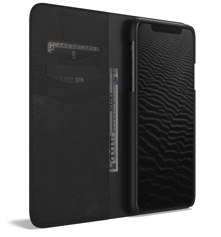 Leather iPhone 12 Pro Max Case - Folio Wallet