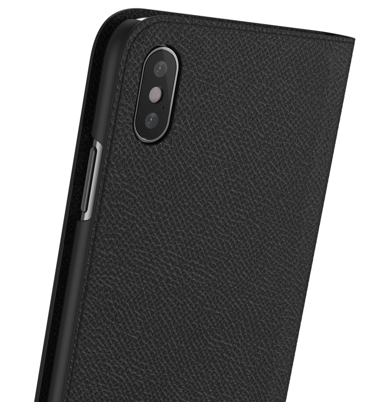 Leather iPhone X Case - Folio Wallet