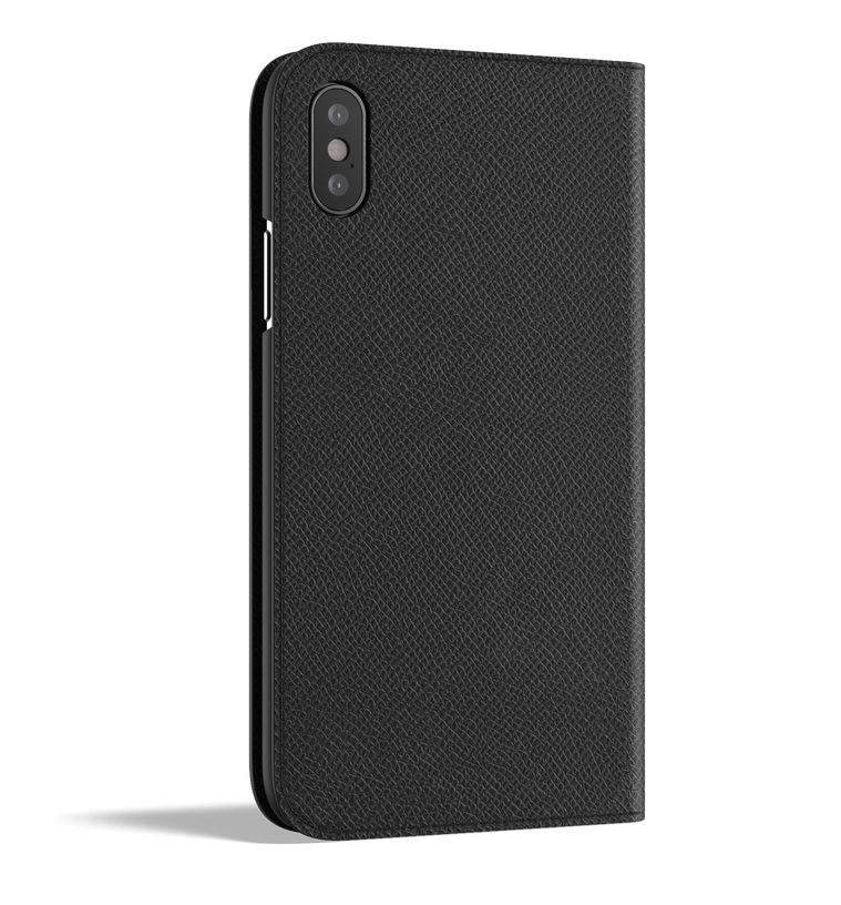 Leather iPhone Xs Case - Folio Wallet