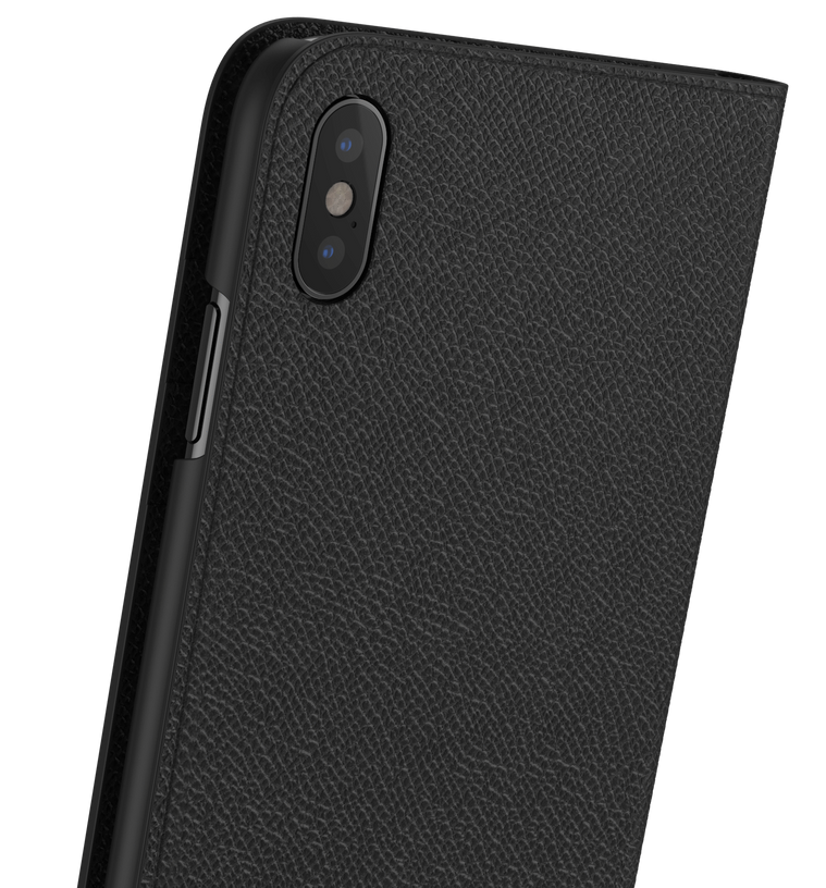 Leather iPhone Xs Max Case - Folio Wallet