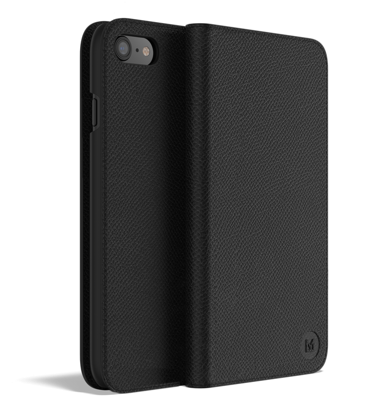 Leather iPhone 8 Case - Folio Wallet