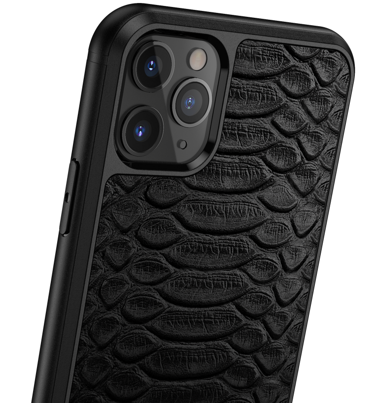 Python Leather iPhone 11 Pro Max Case
