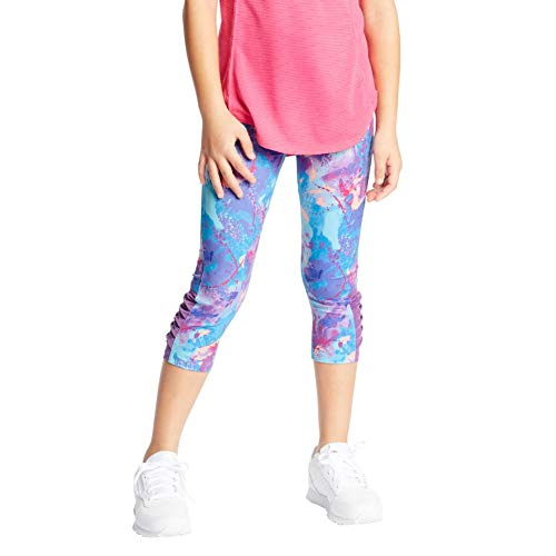 C9 Champion Girls' Performance Capri Leggings, Graffiti Wash, M