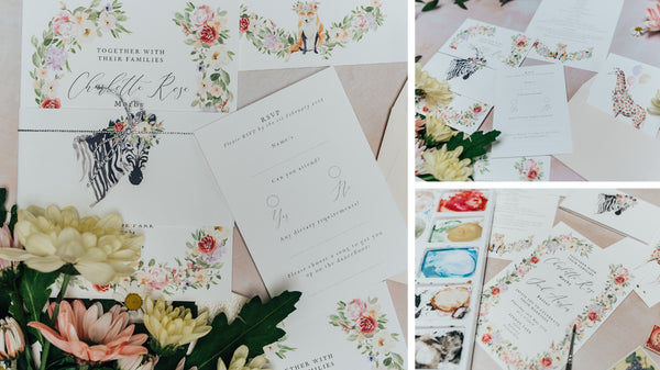 Aynhoe Park Wedding Stationery