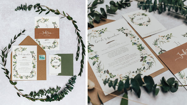 Godwick Great Hall Wedding Invites
