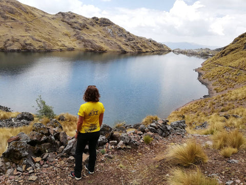 Exploring the 3 lagunas trek