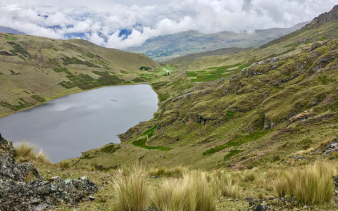 3 Lagunas running route Cusco Peru Fitness Holidays