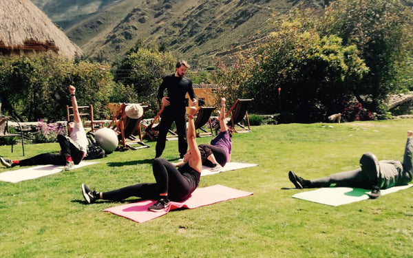 Workout in Ollantaytambo