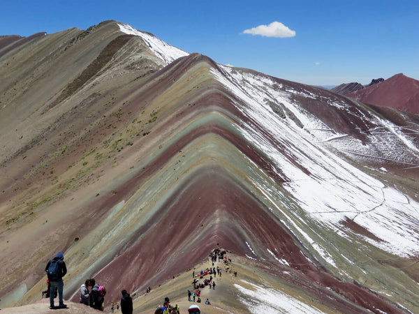 Run rainbow mountain, Cusco