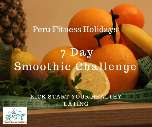 7 day smoothie challenge