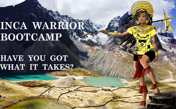Inca Warrior Bootcamp fitness holiday