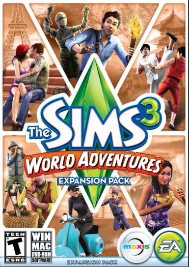 The Sims 3: World Adventures Origin Code