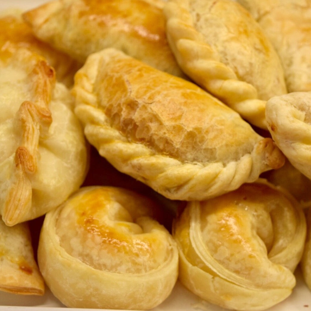 Assorted Best Seller empanadas parbaked x12