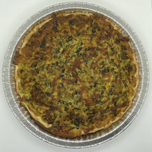 Load image into Gallery viewer, Veggie Family Quiche 9inch
