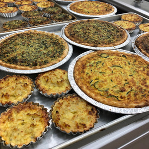 Veggie Family Quiche 9inch