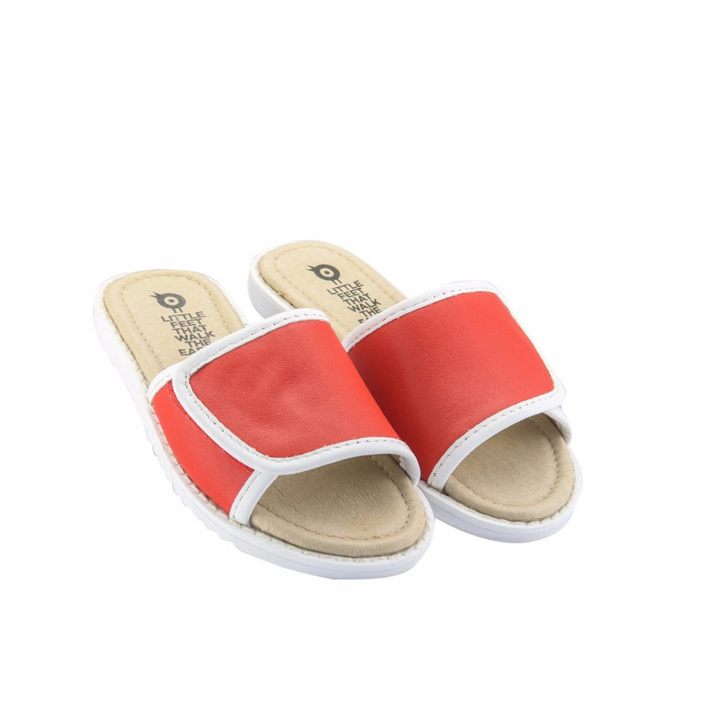 SPORTY SLIDE BRIGHT RED צעד שני