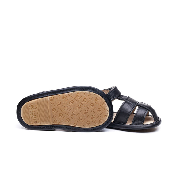 SANDY SANDAL BLACK צעד ראשון