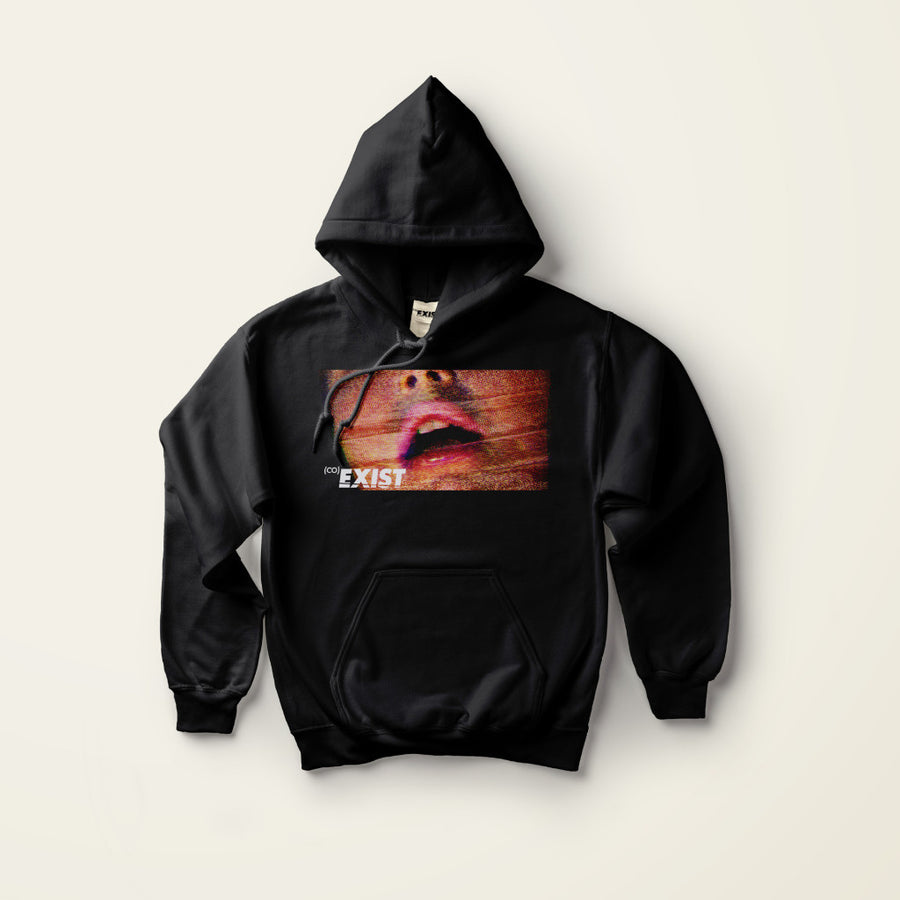BLK GASP HOODIE by EXIST (Co) Apparel