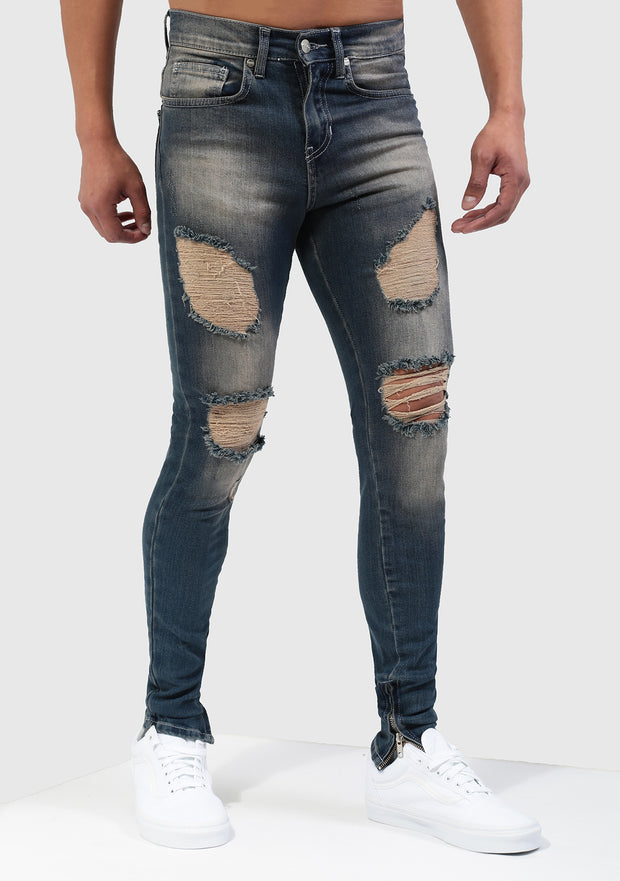 Desert Storm Jeans in Blue