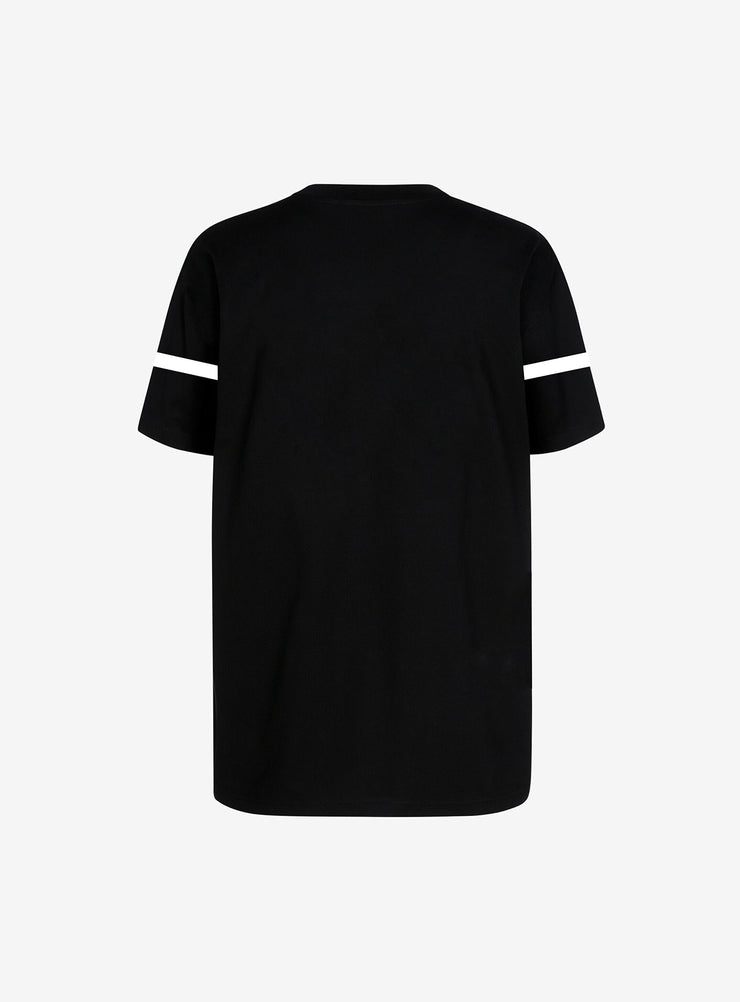 Hood Couture Line T-shirt in Black