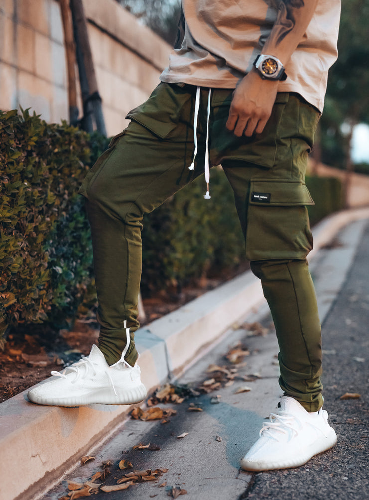 Utility Cargo Pants V1 in Khaki