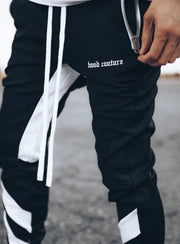 Line Track Pants in Black