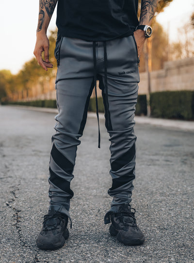 Line Track Pants in Grey