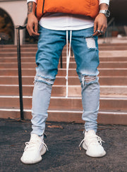 Snowfade Jeans in Blue