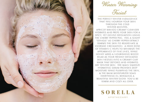 SORELLA APOTHECARY WINTER FACIAL