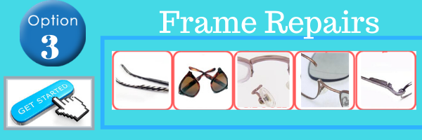 eyeglass and sunglass repairs