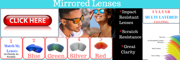 mirrored replacement lenses