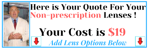 non-prescription lenses clear