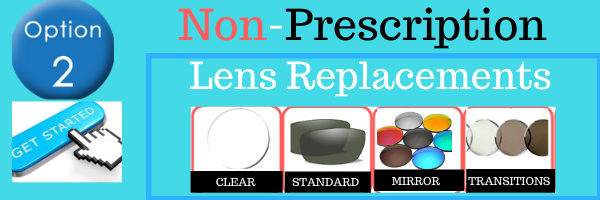 non-prescription replacement lenses