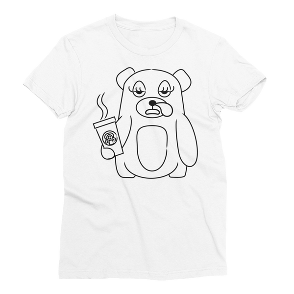 Bearly Slept - Women's Short Sleeve T-Shirt