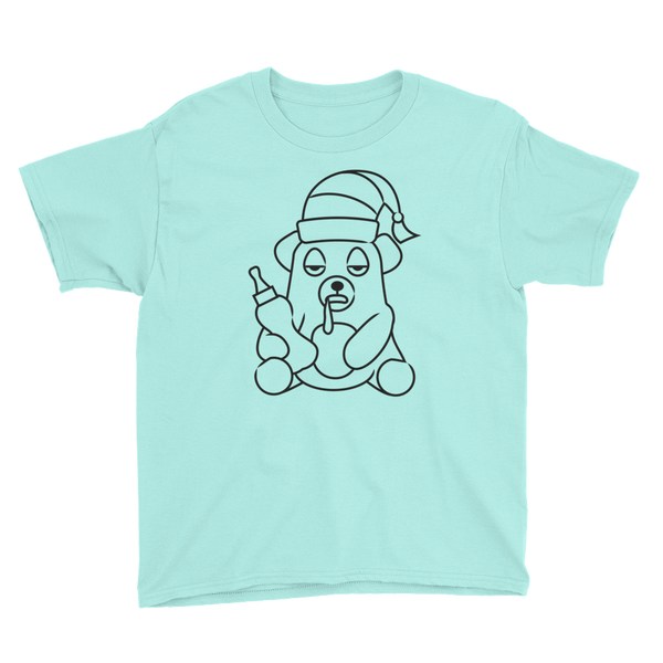 Bearly Napped - Youth Short Sleeve T-Shirt