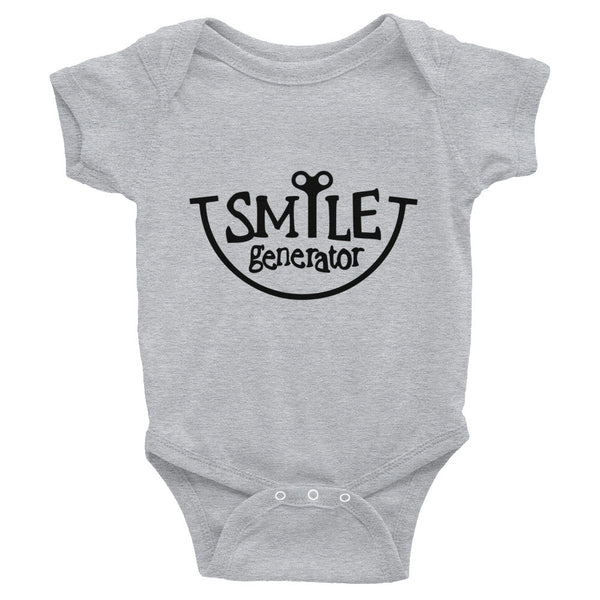 Smile Generator - Infant Bodysuit Grey