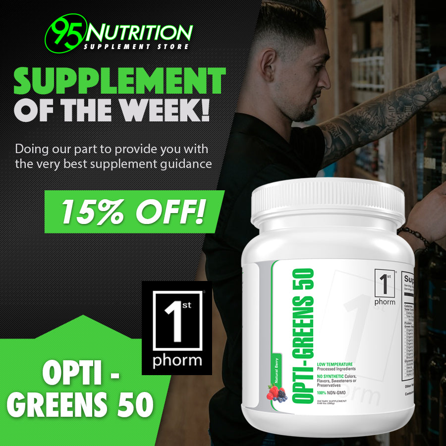 Supplement of the Week: Opti-Greens 50