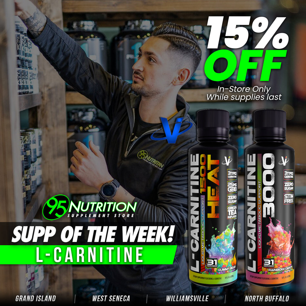Supplement of the Week: VMI Sports L-Carnitine 3000 and HEAT