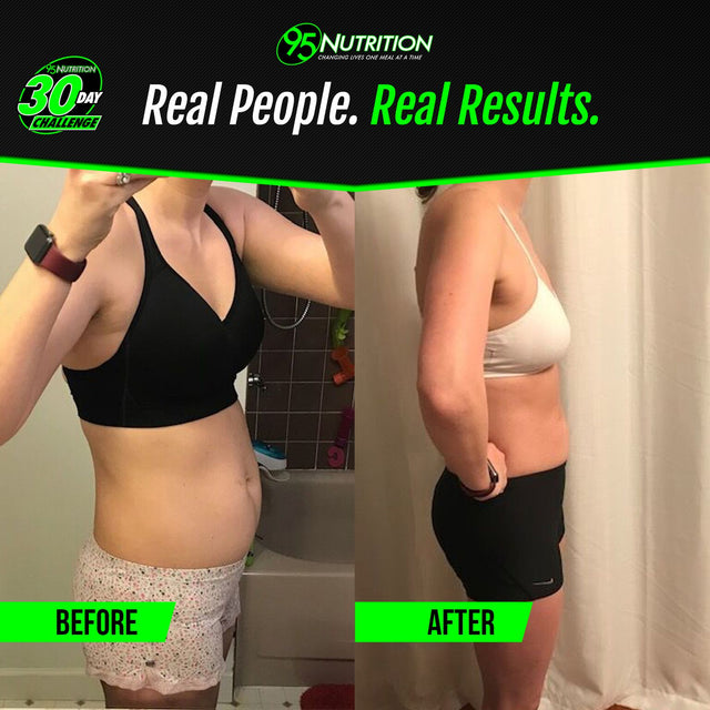Jennifer's postpartum weight loss journey with #TEAM95