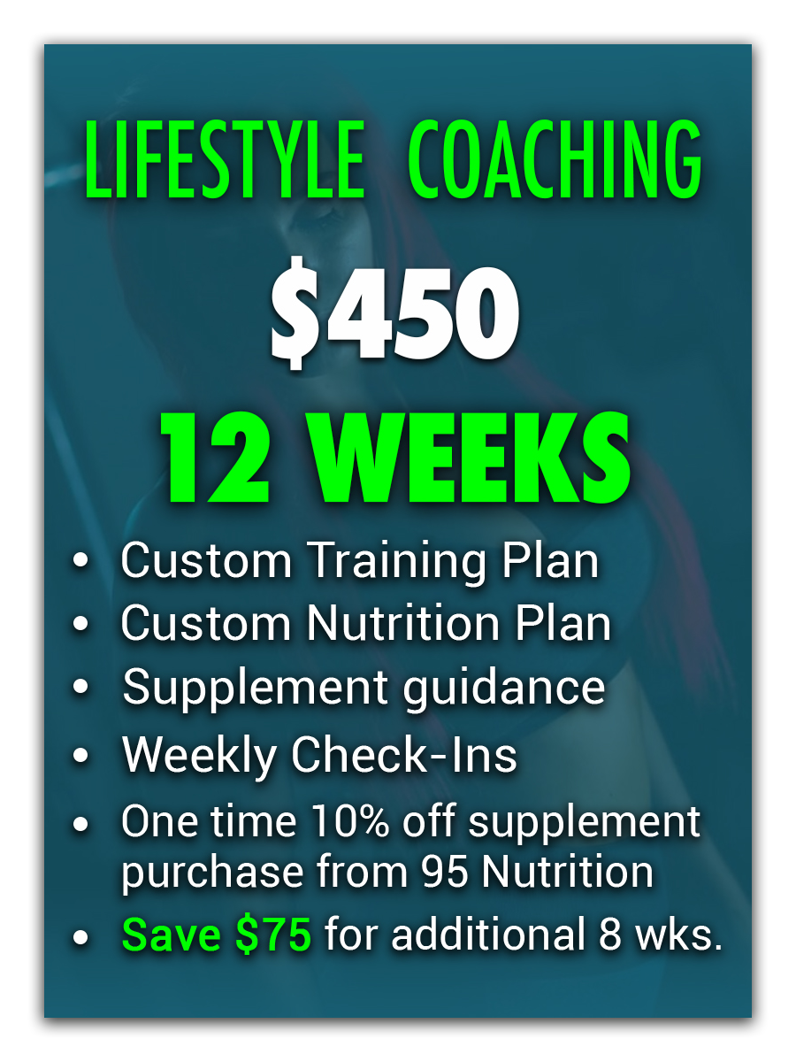 Lifestyle coaching 12 weeks