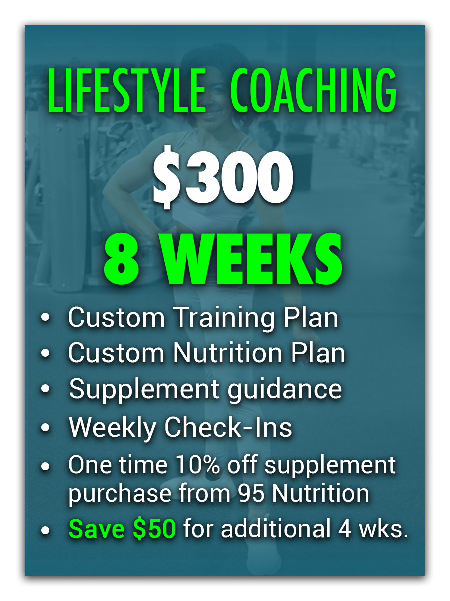 Lifestyle coaching 8 weeks
